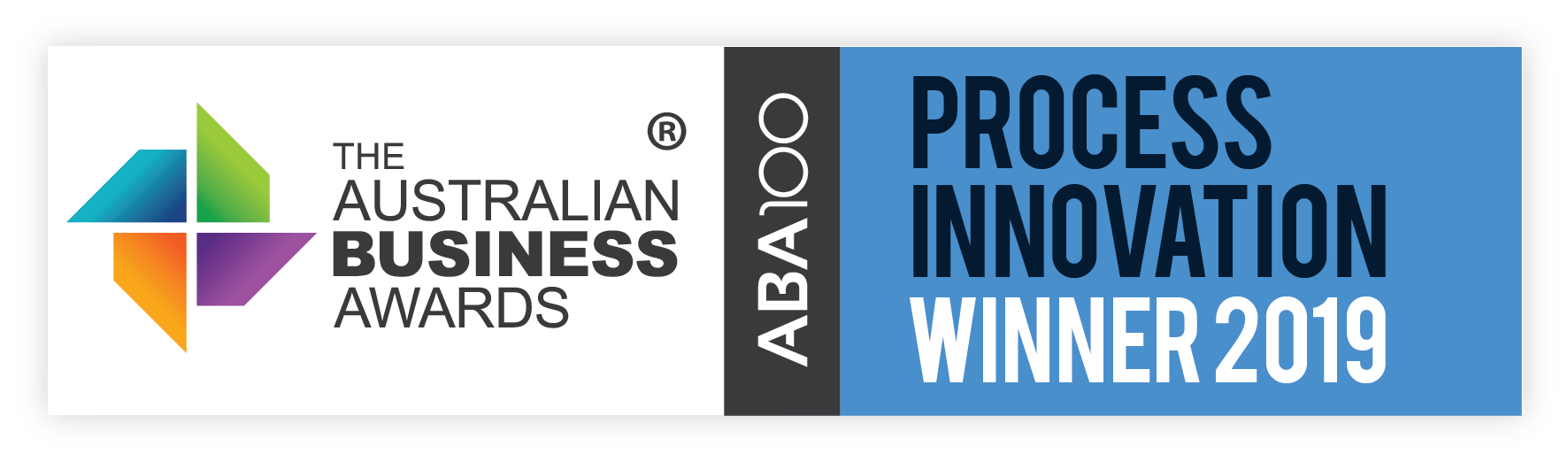 Intraversed recognised as an ABA100 Winner for Business Process Innovation by the Australian Business Awards 2019